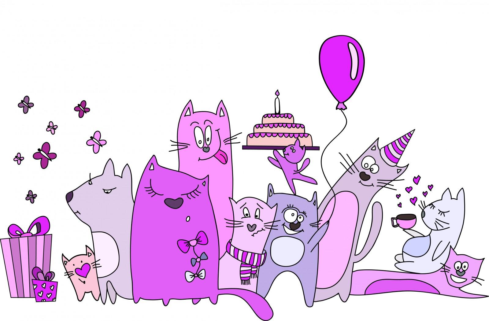 Поздравление с днем рождения девушке веселое